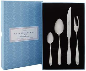 Sophie Conran Arthur Price Of England Dune Stainless Steel 24-Piece Cutlery Set