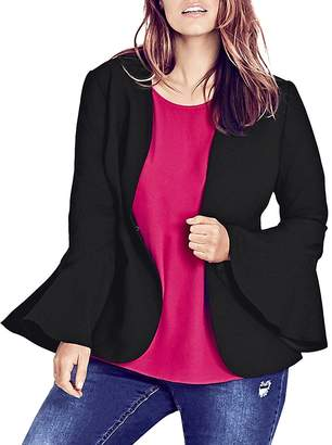City Chic Electrify Me Sculpted Jacket