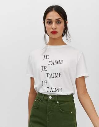 Whistles Je T'aime logo t-shirt
