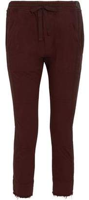 Haider Ackermann Twill-Paneled Cotton Track Pants