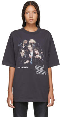 Balenciaga Black Speedhunters T-Shirt