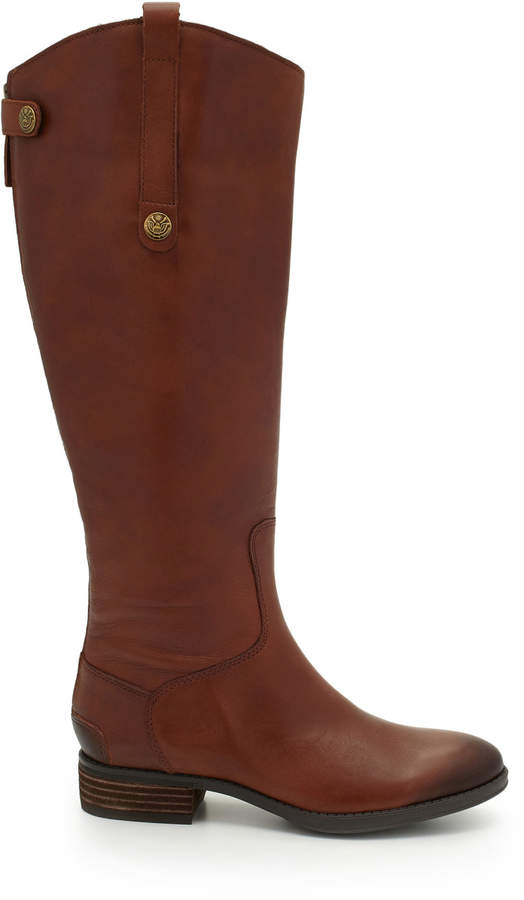 Penny2 Wide Calf Leather Riding Boot