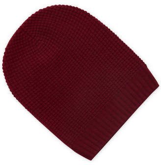 Qi Thermal Stitch Slouchy Cashmere Beanie