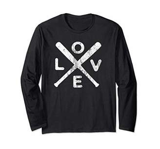 Baseball Love Vintage Gift for Baseball Supporters Long Sleeve T-Shirt