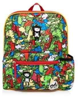 Boy's Printed Backpack