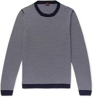 Piombo MP Massimo Striped Cotton Sweater