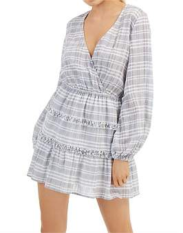The Fifth Label Ivy Stripe Long Sleeve Dress