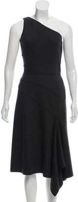 Michael Kors Asymmetrical Wool Dress