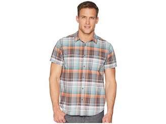 Prana Cayman Plaid Short Sleeve Men's Clothing