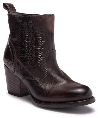 Bed Stu Bed|Stu Shrill Whip Stitched Leather Ankle Bootie