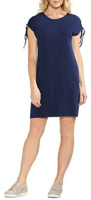 Vince Camuto Lace-Up Shoulder Dress