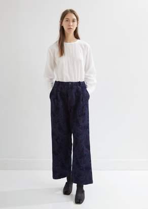 Blue Blue Japan Gobelin Paisley Wide Pants
