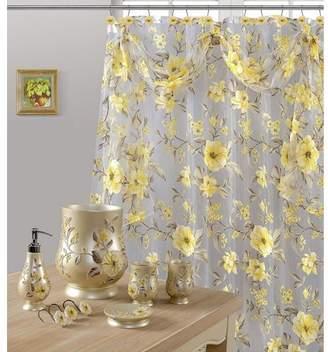 Daniels Bath Melrose Sheer Shower Curtain