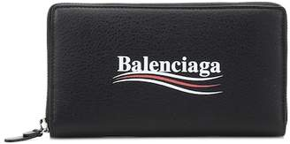Balenciaga Everyday Zip Continental wallet