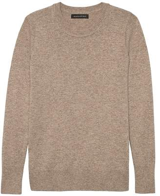 Banana Republic Italian Merino-Blend Crew-Neck Sweater