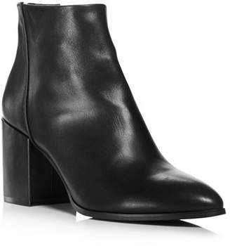 Aqua Women's Dante Pointed Toe Leather Booties - 100% Exclusive