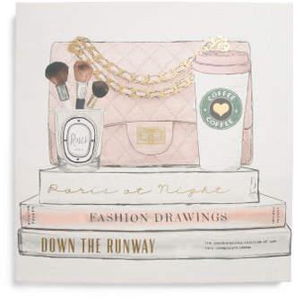 20x20 Paris Handbag & Coffee Wall Art