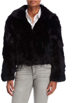 Adrienne Landau Real Fur Jacket