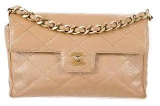Chanel Quilted Caviar Flap Bag