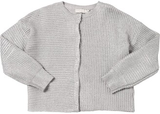 Stella McCartney Wool & Cotton Knit Cardigan