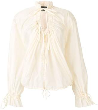 DSQUARED2 ruched shirt