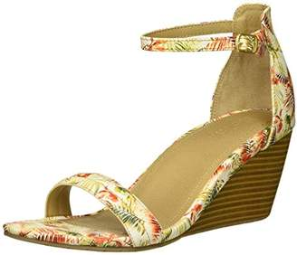 Kenneth Cole Reaction Women's 7 Cake Icing Ankle Strap Wedge Sandal