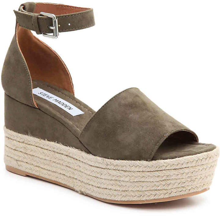 Steve Madden Women's Apolo Wedge Sandal