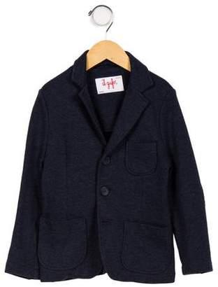 Il Gufo Boys' Textured Knit Blazer
