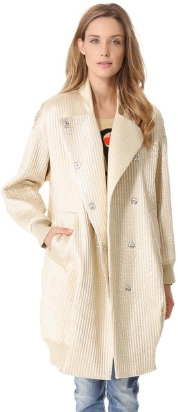 Sonia Rykiel Sonia by Metallic Coat