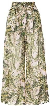SUBOO printed palazzo pants