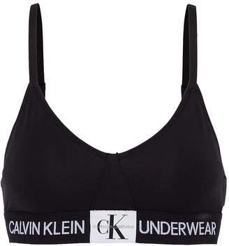 Calvin Klein Underwear Logo band triangle bra