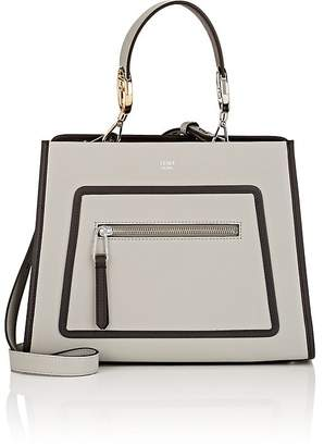Fendi Women's Runaway Small Leather Tote Bag