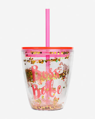 Express Slant Collections Boss Babe Wine Tumbler