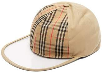 Burberry 1983 Vintage Check Cap - Womens - Beige
