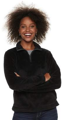 Sonoma Goods For Life Women's SONOMA Goods for Life Supersoft Half-Zip Sherpa Sweatshirt