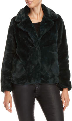 Joujou Jou Jou Solid Faux Fur Jacket