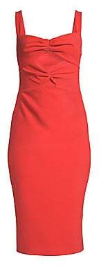 LIKELY Women's Terry Cutout Bodycon Dress - Size 0