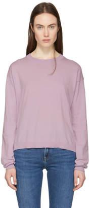 Acne Studios Purple Leedu Sweater