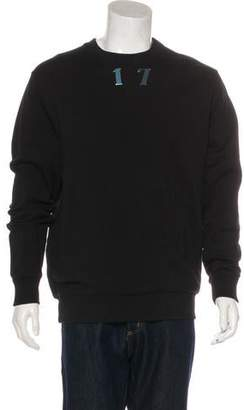 Givenchy 17 Embellished Sweatshirt