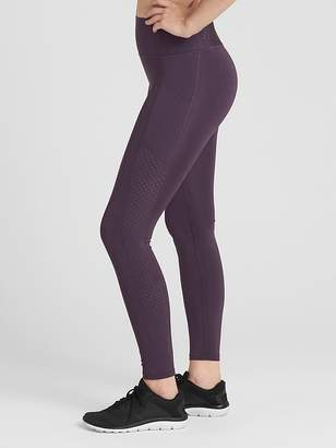 Gap GFast High Rise Perforated Panel Leggings in Sculpt Revolution