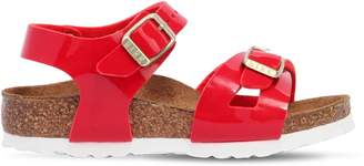 Birkenstock Faux Patent Leather Sandals