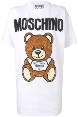 Moschino Teddy jersey dress