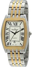 Peugeot Men's Two-tone Tank Watch