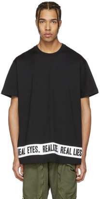 Givenchy Black 'Real Eyes' T-Shirt $535 thestylecure.com