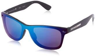 BCBGMAXAZRIA Women's B853 Wayfarer Sunglasses