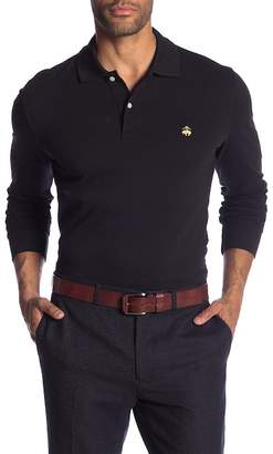 Brooks Brothers Pique Long Sleeve Polo