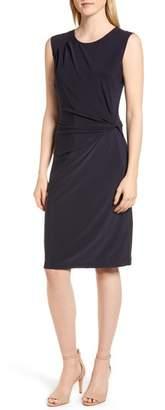 Nic+Zoe Twist Side Matte Jersey Dress