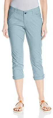 Lee Women's Midrise Fit Essential Chino Capri Pant