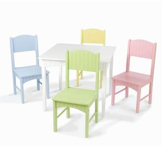 Kid Kraft Cape 5-Piece Table & Chair Set