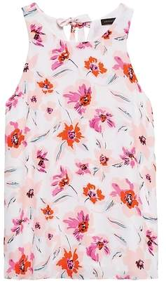 Banana Republic Floral Bow-Back Tank